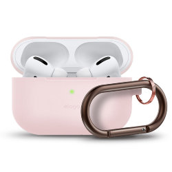 Чехол Elago Slim Silicone Hang case для AirPods Pro, розовый