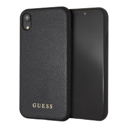 Чехол Guess Iridescent Hard для iPhone XR, черный