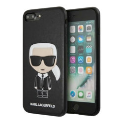 Чехол Karl Lagerfeld Iconic Karl Hard для iPhone 7 Plus/8 Plus, черный