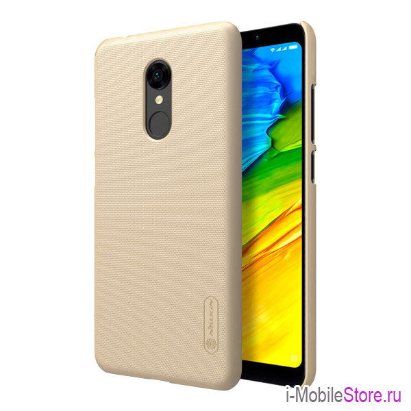 Чехол Nillkin Frosted Shield для Xiaomi Redmi 5, золотой
