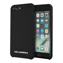 Чехол Karl Lagerfeld Silicone для iPhone 7 Plus/8 Plus, черный
