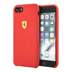 Чехол Ferrari On Track SF Silicone для iPhone 7/8/SE 2020, красный