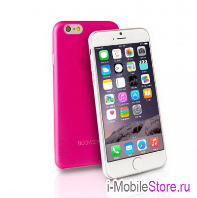 Чехол Uniq Bodycon для iPhone 6 Plus/6s Plus, розовый