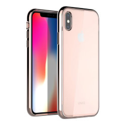 Чехол Uniq Glacier Xtreme для iPhone XS Max, Blush Gold