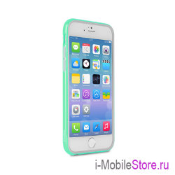 Чехол Puro Bumper для iPhone 6 Plus/6s Plus, бирюзовый