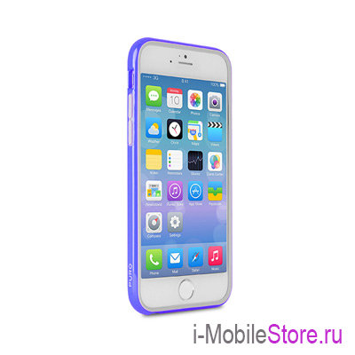 Чехол Puro Bumper для iphone 6 Plus/6s Plus, синий