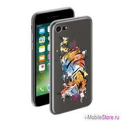 Чехол Deppa Gel Art Animal для iPhone 7/8/SE 2020, Тигр