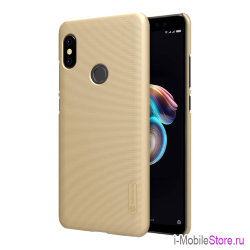 Чехол Nillkin Frosted Shield для Redmi Note 5/5 Pro, золотой