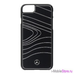Чехол Mercedes Organic III Hard Brushed Aluminium для iPhone 7/8, черный