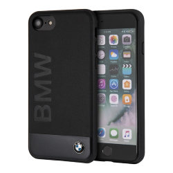 Чехол BMW Signature Bi-material Hard для iPhone 7/8/SE 2020, черный