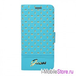 Чехол Guess Gianina Booktype для iPhone 6 Plus/6s plus, Turquoise